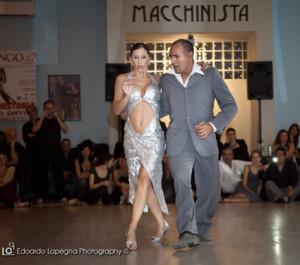 Romina Levin e Claudio Villagra