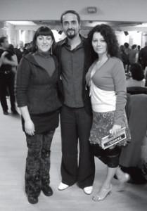 Claudia, Mazen Kiwan e Raffaella Grassi