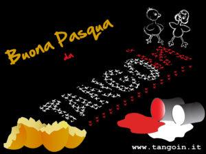 Sfondo desktop realizzato da Carlo D'Andreis e Chiara Galati per gli auguri di Pasqua 2013 Scaricabile gratuitamente ma non utilizzabile, in tutto o in parte, a fini commerciali. versione Nero