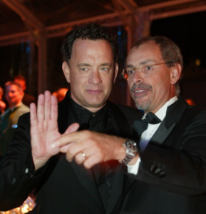 Tom Hanks e Angelo Maggi